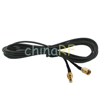 DAB Radio Antenna Extension Aerial Cable SMB Female to SMB Male 5m pigtail RG174