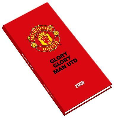 Diary Manchester United FC Official Slim 2020 Premier League Football Soccer