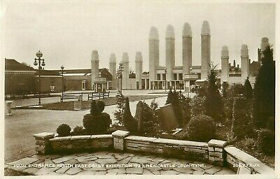 Pc Newcastle Upon Tyne North East Exhibition Real Photo Northumberland 1929