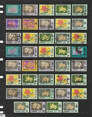 MALAYSIA stamp selection (REF.1236)