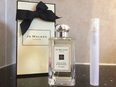 Jo Malone English Oak & Redcurrant Cologne In New Plastic 10Ml Sample Atomiser