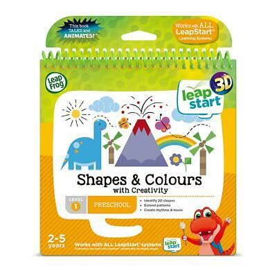 LeapFrog 460503 Shapes and Colours Activity Book 3D Multicoloured
