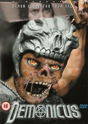Demonicus Demon Gladiator From Hell - NEW Region 2 DVD