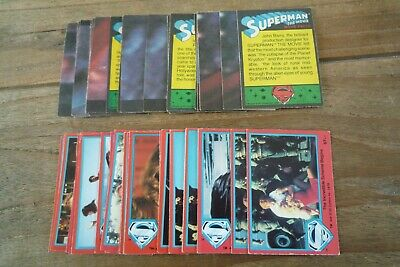 Topps Superman Cards - 2nd Series 1978 - nos 67-132 VGC - Pick Cards You Need