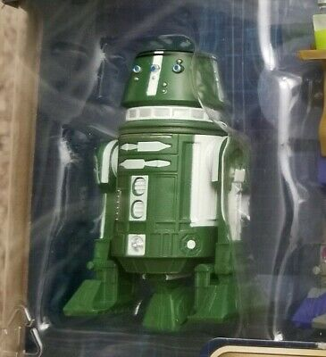 Star Wars Droid Factory R5-013 Disney Parks Exclusive Figure green R2-D2 Clone