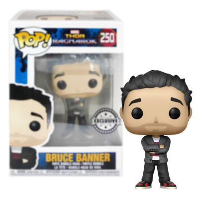 BRUCE BANNER Thor Ragnarok Pop Vinyl Bobble-Head Figure #250 Funko Official