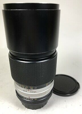 Konica HEXANON AR 200mm f3.5 well used good user and tested