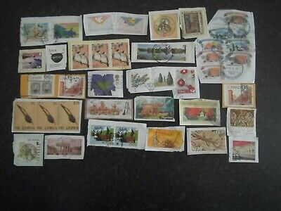 Lot 69) Collection Mixture Bulk Lot of World stamps on paper at a low price