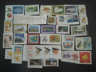 Lot 32) Collection Mixture Bulk Lot of World stamps on paper at a low price