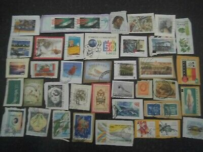 Lot 30) Collection Mixture Bulk Lot of World stamps on paper at a low price