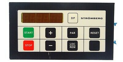 ABB Strömberg Remote Control Panel SAFT 151 CPD 57431849 Display Unit Bedienfeld