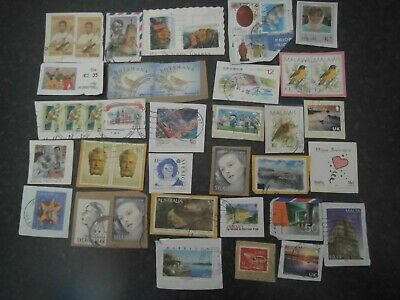 Lot 92) Collection Mixture Bulk Lot of World stamps on paper at a low price