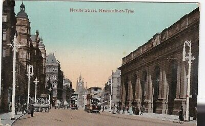 Neville Street & Tram, NEWCASTLE UPON TYNE, Northumberland