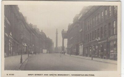 Grey Street & Grey's Monument, NEWCASTLE UPON TYNE, Northumberland RP