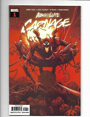 Absolute Carnage #1 Marvel 2019 NM 9.4+ Ryan Stegman cover.