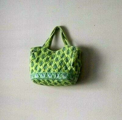 """VERA BRADLEY Quilted RETIRED Pattern """"Citrus"""" Tote Bag with Elephants"""