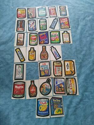 1973 Topps Wacky Packages Original 2nd Series 30/33