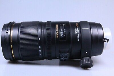 Sigma EX DG OS HSM 70-200mm F/2.8 APO Lens For Canon 165