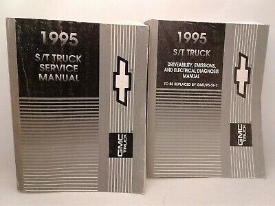 1995 GMC S/T Truck service, driveability, emissions, electrical diagnosis manual