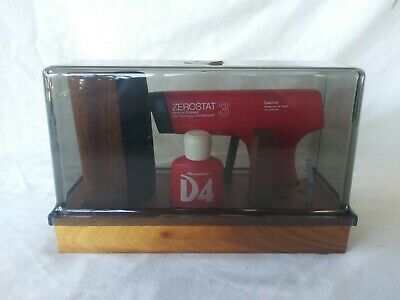 Vintage Discwasher Record Cleaning Kit - D4 Fluid - Zerostat 3 + Accessories