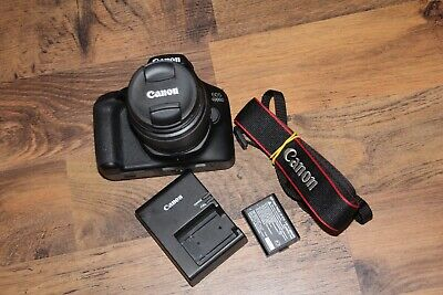 Canon EOS 4000D Camera with EF-S 18-55mm Lens Kit