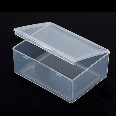 5x Clear Plastic Storage Box Collection Container Case Part Box TK