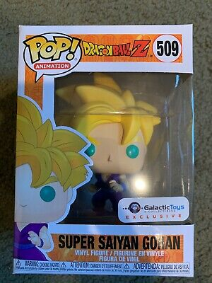 Funko Pop Animation - Dragon Ball Z - Super Saiyan Gohan Galactic Toys Exclusive