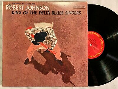 ROBERT JOHNSON King of the Delta Blues Columbia CL 1654 NM/EX  re Degritter