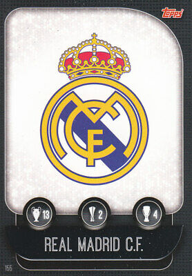 TOPPS MATCH ATTAX CL 2019-20 - Club Badge - Real Madrid - # 155