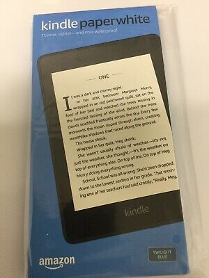 Brand New Kindle Paperwhite Waterproof with 8GB with offer Blue 10th Generation