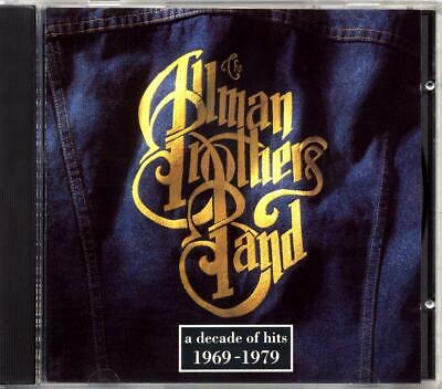 The Allman Brothers Band - A Decade of Hits 1969-1979 (CD, 1991, Polydor)