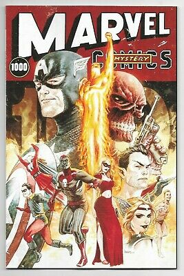 Marvel Comics MARVEL #1000 first printing Andrews variant