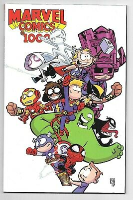Marvel Comics MARVEL #1000 first printing Young variant