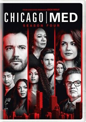 CHICAGO MED TV SERIES COMPLETE SEASON FOUR 4 New Sealed DVD