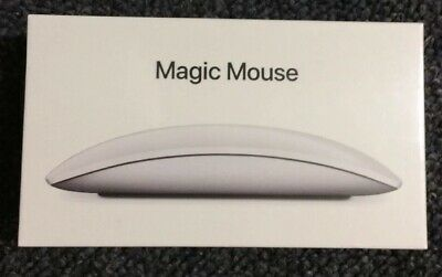 Apple Magic Mouse 2 Silver Rechargeable Wireless A1657 Mla02Ll/A *New Sealed*