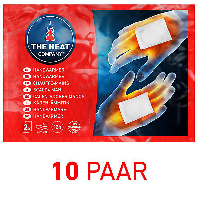 THE HEAT COMPANY Handwarmers - EXTRA WARM - Hand Heat Pads - 12 Hours of Warmth