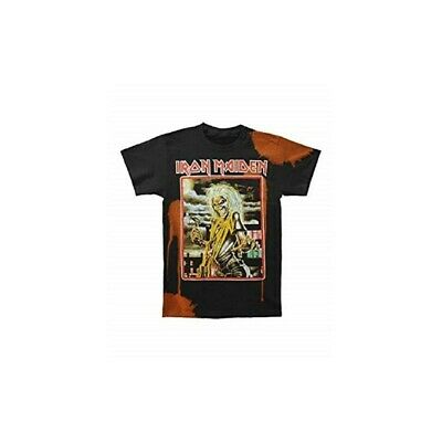 T-Shirt IRON MAIDEN BLEACHED KILLERS SQ - Size XXL - New -Official merchandising