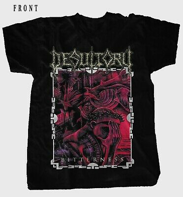 DESULTORY-Bitterness-Heavy Metal-Unanimated,Dismember, T-shirt sizes: S to 7XL