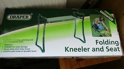 NWOT Draper Folding Kneeler and Seat *un-used in box*