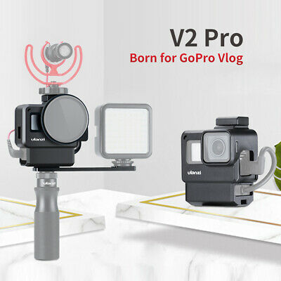 Ulanzi V2 Pro Sports Camera Cage Vlog Case Protective Cage with 52mm Filter C6T4