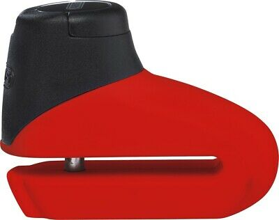 Abus Provogue 305 Motorcycle Security Disc Lock Red 0496743