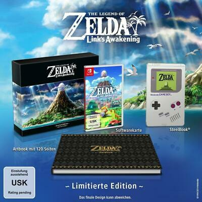The Legend of Zelda Links Awakening Limited Collectors Edition Switch *Neu, OVP*
