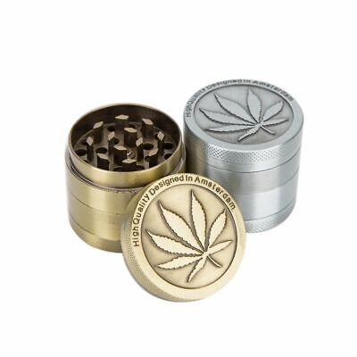 Metal Zinc Alloy 40mm Tobacco Grinder Rainbow Color Herb Herbal Spice Crusher