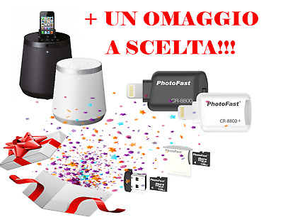 RBX-500 iLunar - Sistema HiFi /Dock Station/Speaker con Bluetooth + OMAGGIO
