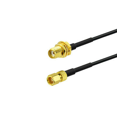 SMA Female Jack to SMC Female pin straight Jumper pigtail RG174 30cm RF Cable