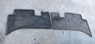 Range Rover P38 Genuine Pair Of Rubber Rear Mats Landrover Ok