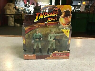 3.75 Hasbro Indiana Jones German Soldiers Raiders Of The Lost Ark Figures 2 Pack