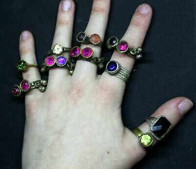 Boho Rings (Kuchi Ring Set) - Antique Post-medieval Joblot 3