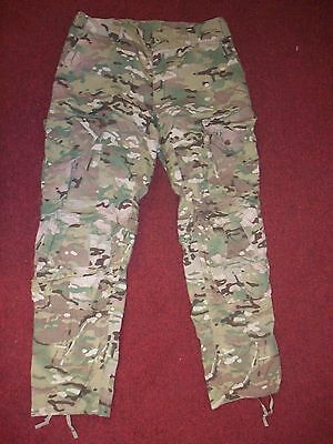 Us Army Multi-Cam  Army Combat Pants Crye Precision Knee Pads Slots Small Short