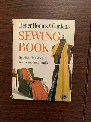 "Vintage 1961 BETTER HOMES & GARDENS ""SEWING BOOK"" HOW TO BOOK ILLUSTRATED"